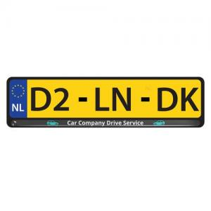 License Plate Doming avec doming quadri